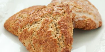 Glazed Buttermilk Spice Scones