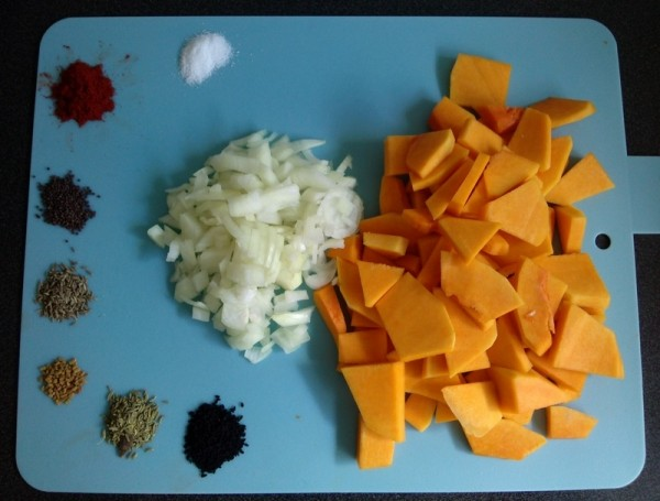 Pumpkin Curry - Ingredients