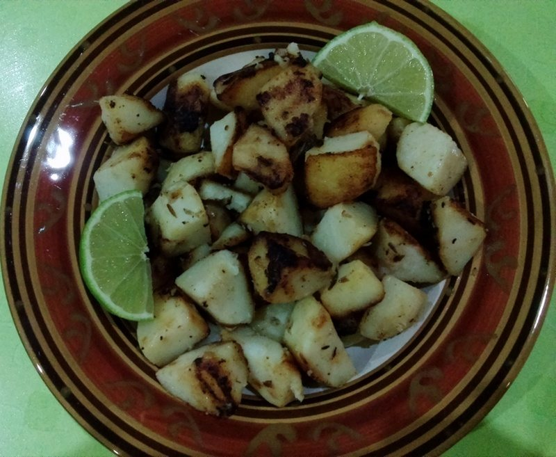 Lime and Rosemary Potatoes