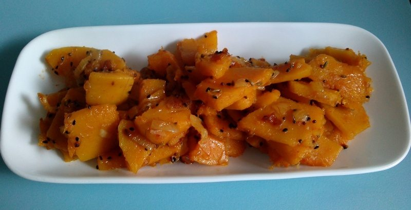 Pumpkin Curry - Serve
