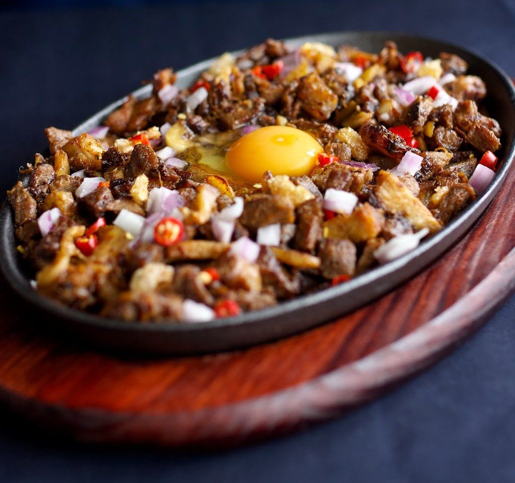 Sizzling Sisig Food Glorious Food