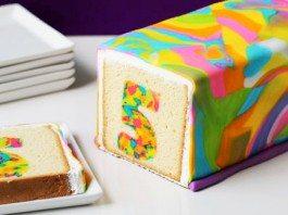 Suprise Tie-Dye Cake