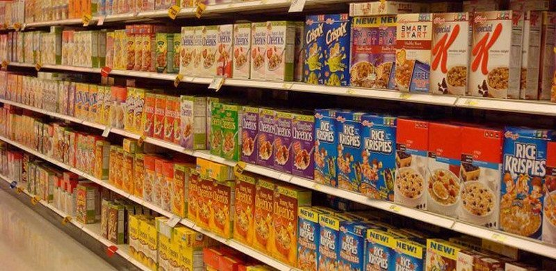 Spot the unprocessed cereals!