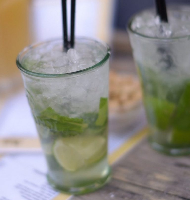 Ginger Beer Mojito Mocktail