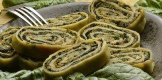 An Italian favourite - Rotolo di Spinachi