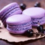 Blueberry macaroons :)