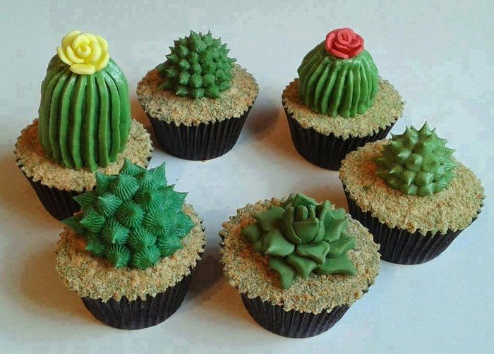 How To Make Succulent Cupcakes Food Glorious Food
