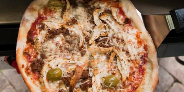 Artisan BBQ Chicken Pizza
