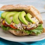 Avocado Tuna Salad Torta