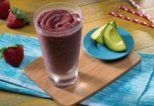 Dairy Free Berry Avocado Smoothie