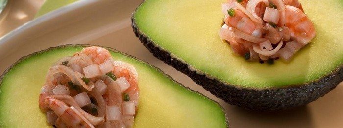 Stuffed Avocado with Shrimp