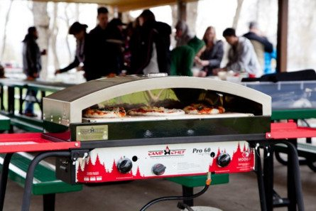 A $130 outdoor pizza oven!