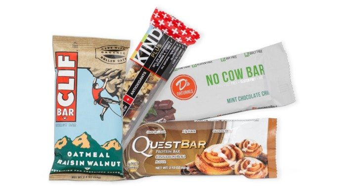 Get Your Fit Together Snack Bars