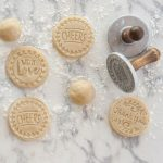 These cookie stamps from Nordic Ware make it easy to say 'I live you!'