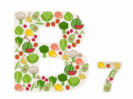 Fruits and vegetables highest in vitamin B7