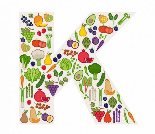 Fruits and vegetables highest in vitamin K