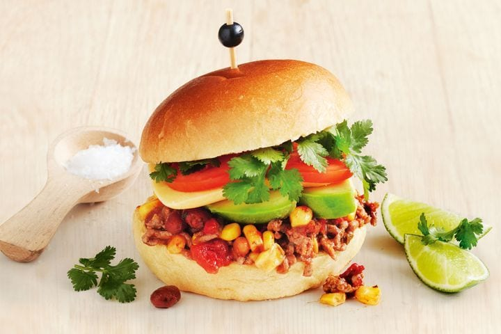 10-minute Mexican Sloppy Joes