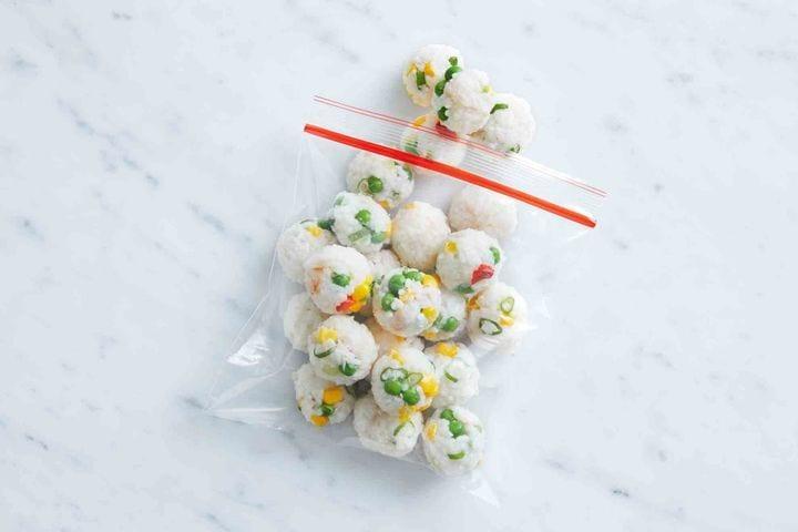 Sushi Fried Rice Balls