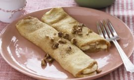 Peanut Butter Banana Crepes Recipe