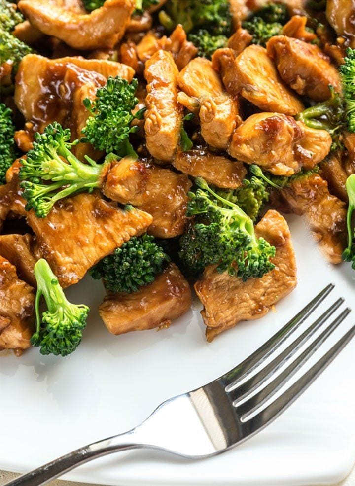 Soy-Glazed Chicken with Broccoli