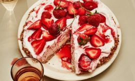 Coconut-Strawberry Ice Cream Pie