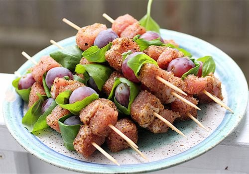 Sweet Spiced Pork Kebabs Recipe