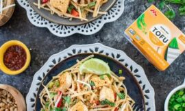 Sweet and Spicy Tofu and Jalapeno Pad Thai