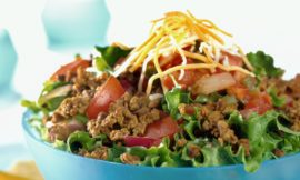 Low-Carb Taco Salad Recipe Without the Added Fat