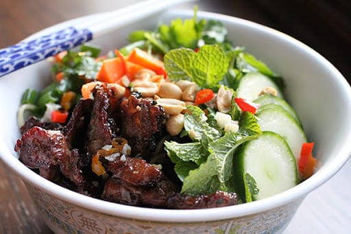 Vietnamese Vermicelli With Chile Sauce and Pork Recipe