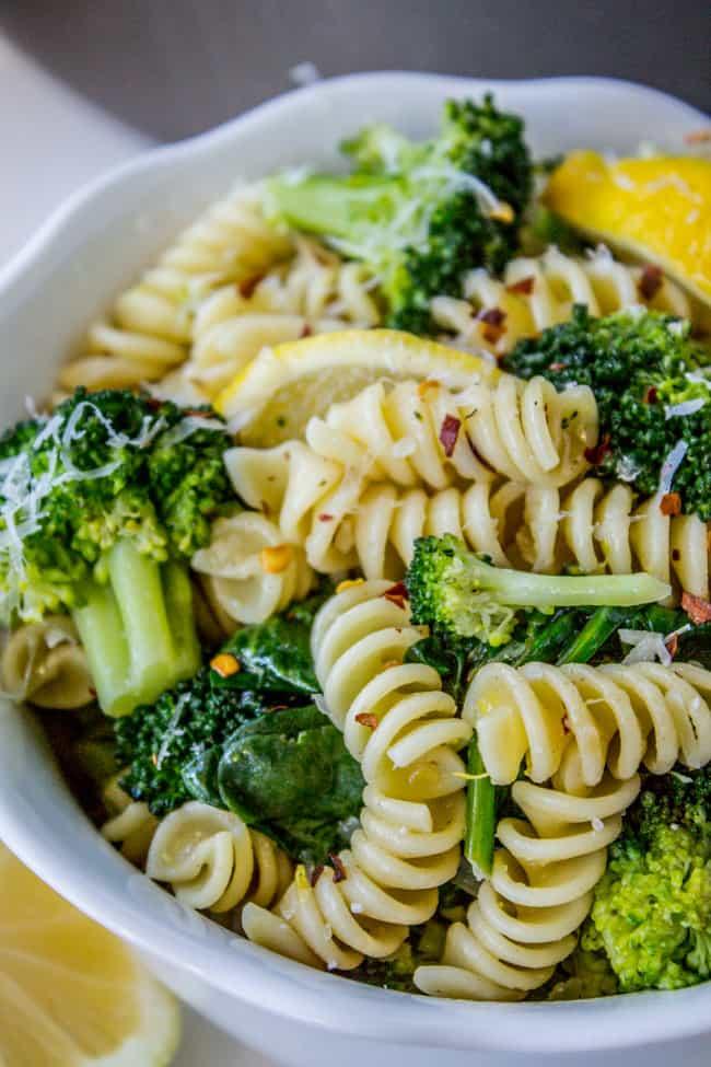 One-Pot Lemon-Broccoli Pasta with Parmesan
