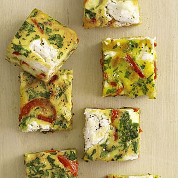 Vegetable Frittata Squares