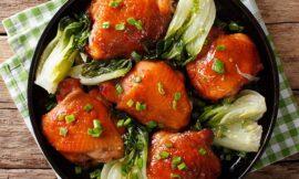 Pressure Cooker Garlic-Sesame Chicken