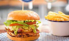 Pineapple Bacon Burgers